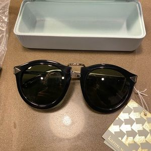 Karen Walker Harvest Black Sunglasses - NWT